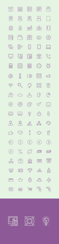 The featured freebie of the day is a great set of 100 stroke icons created and released by PuppetScientists...