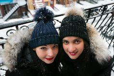 Want to know how to keep warm while being stylish? Check out our new blog post @cecileandlaura