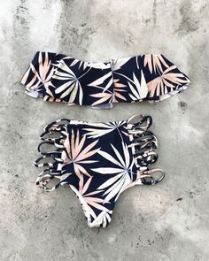 Perfect pair - L*SPACE Polynesian Palm Lynn Top + Tripp Bottom
