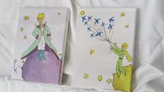 Set of two canvasses -Little Prince