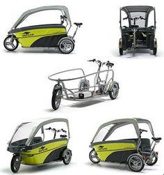 Trapkracht: Go-cab: fiets voor BSO of kinderopvang organisaties