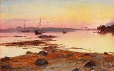 Even Ulving 1863-1952: Sommernatt