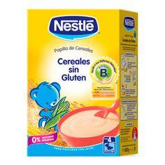 NESTLE Papilla Cereales Sin Gluten 600g.