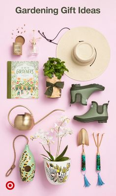 Find gorgeous gifts to get her green thumb going. From indoor planters & gardening apparel to garden decor.