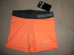 "Nike Pro Core Essential Compression Shorts 3"" (1-Pair) Spandex Yoga Tights"