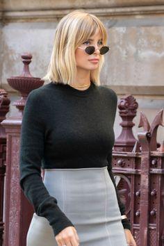 Xenia Adonts Street Style London Fashion Week Victoria Beckham SS20   London et Paris