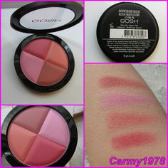 Gosh - Blush Multicolore Gosh Cosmetics, Mascara, Blush, Nails, Makeup, Beauty, Finger Nails, Make Up, Mascaras