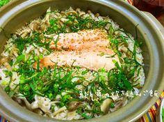 超簡単♡秋の味覚!鮭と茸の炊き込みご飯 by nyaako♡ 【クックパッド】 簡単おいしいみんなのレシピが278万品