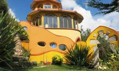 A Colorful Hotel in Copacabana, on the Shore of Lake Titicaca