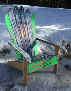Adirondack Ski Chairs Of Lake Placid