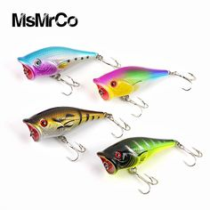 1PCS 4 color 6.5cm 10g  Minnow top quality lifelike baits hunting 3d eye wobbler hard bait with 2 hook outdoor swim fishing lure -- Haga clic en la VISITA botón para ver los detalles