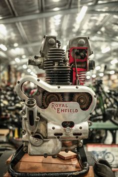 Royal Enfield, aka Royal Oilfield...