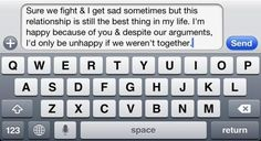 Twitter / CuteTxts: Sure we fight sometimes. ...