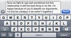Twitter / CuteTxts: Sure we fight sometimes. ...