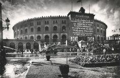 """Barcelona 1954 """"Plaza de toros Las Arenas"""""""