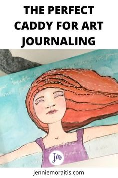 I love this caddy to store my art journaling supplies so I can pull them out whenever I get the chance! #artjournal Happy Journal, Keeping A Diary, Retreat Ideas, Drawing Skills, Bullet Journals, Journal Inspiration, Art Journaling, Happy Life, Are You Happy