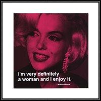 Marilyn Monroe - Definitely a Woman Quote picture at MarilynMonroePict...