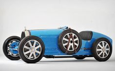 Some cars are old, and some cars are classic — but not all old cars are classics. This 1925 Bugatti Type 35B Grand Prix Two-Seater is a rare example of an automobile that's both.