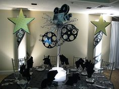 Hollywood Theme Centerpiece | The Prop Factory | Flickr