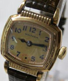 Waltham xg Waltham 15 10 Watch Antique