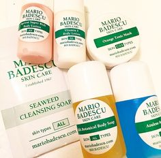 The best way to travel: with Mario Badescu Samples!