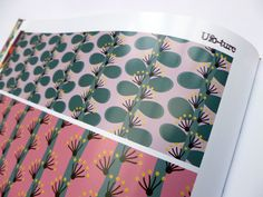 Texitura magazine - Print designs by Veronica Galbraith | Pitter Pattern