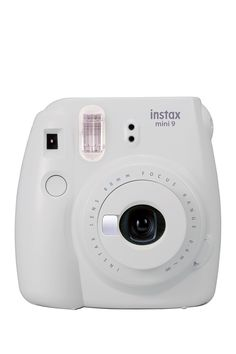 Smokey White Instax Mini 9 Camera