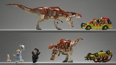 Jurassic Park T-Rex Lego Concept Lego Jurassic Park, Jurassic Park World, Jurassic Movies, Lego Dinosaurus, Legos, Lego Sculptures, Lego Animals, Lego Design, Lego Models