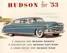 1953 Hudson vintage car ad
