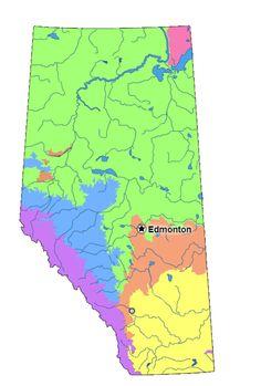 Mme Merriman's Classroom: Regions de l'#Alberta Lecon et ressoures pour etudes sociales en #Francais.  Projet de recherche.  Research project for french immersion grade 4 students in Alberta