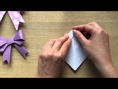 Origami Paper Bows - GORGEOUS GIFT WRAP IDEA! - Red Ted Art's Blog