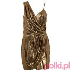 Drapowana sukienka River Island #fashion #polkipl #bebeauty #moda #style