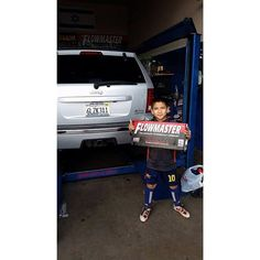 8-year-old Brandon Velazquez may not be able to drive, but he knows what sounds good! Huge thanks to Jesus Velazquez for sending in this wonderful photo of his son!____________________________ TAG your Pics #TeamFlowmaster for a chance to be featured! ------------------------------------ LIKE us on Facebook! www.facebook.com/FlowmasterMufflersINC ------------------------------------ #FlowmasterMufflers #Flowmaster #Exhaust #Muffler #Automotive #Performance #ClassicCars #CarsofInstagram…