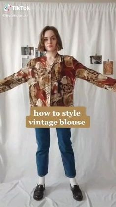 Mode Outfits, Retro Outfits, Cute Casual Outfits, Vintage Outfits, Vintage Clothing, Fashionable Outfits, Hijab Fashion, Korean Fashion, Fashion Outfits
