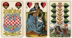 Alta Carta Playing Cards: Antique - pre 1950 (6)