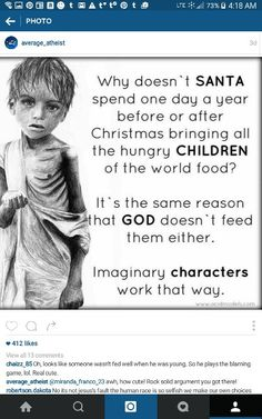 god.. the imaginary friend who wants your money every Sunday