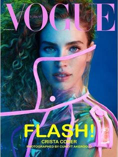 Vogue Turkey September 2014 | Crista Cober by Cuneyt Akeroglu #covers2014 #CristaCober