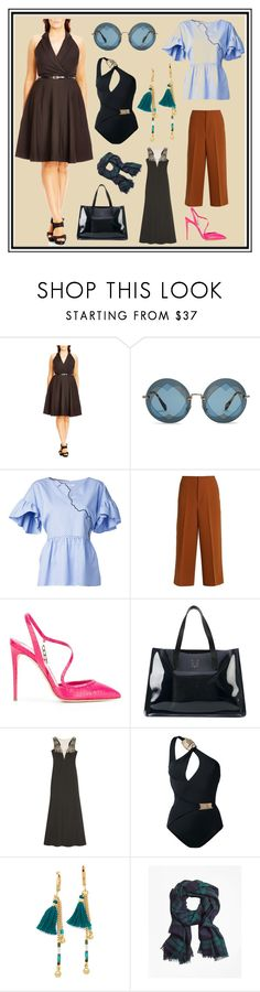 """Be The Best Version Of You"" by cate-jennifer ❤ liked on Polyvore featuring City Chic, Miu Miu, VIVETTA, Marni, Olgana, Charlotte Olympia, Notte by Marchesa, MOEVA, Shashi and Brooks Brothers"