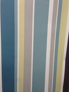 Stripy wallpaper