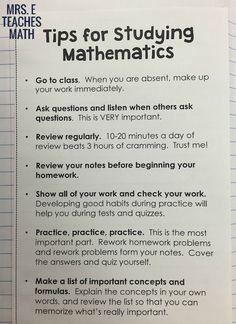 Math Study Tips for an Interactive Notebook {Hilfe im Studium|Damit dein Studium ein Erfolg wird|Mit der richtigen Technik studieren|Studienerfolg ist planbar|Mit Leichtigkeit studieren|Prüfungen bestehen} mit ZENTRAL-lernen. {Kostenloser Lerntypen-Test!| |e-learning|LernCoaching|Lerntraining}