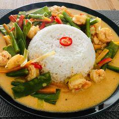Red Curry Recipe, Curry Recipes, Fish Recipes, Indian Food Recipes, Asian Recipes, Healthy Recipes, Ethnic Recipes, Canned Pumpkin Recipes, Good Food