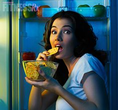 Cure the Late Night Munchies. Tips & recipes to keep you on track!