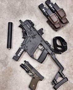 Showing some Kriss Vector love! The RMR is right at home on almost any firearm platform.