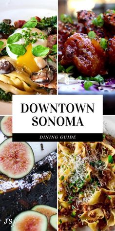Splitting my time between Wine Country (Sonoma & Napa) and San Francisco, I am no stranger to downtown Sonoma. If you've never been, you are in for a treat. Downtown Sonoma has some of the best dining in California. With so many fantastic options to choose from, I am going to be sharing my top Sonoma Dining recommendations of where you should grab a bite! Sonoma Restaurants, California Restaurants, Good Breakfast Places, Best Breakfast, Sonoma California, Best Italian Recipes, American Restaurant, Beet Salad, Kitchens