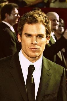 Just started watching Dexter on Netflix. He is beautiful.