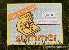 Lawnscaping Challenge #34 - #Embossing Super fun card by Kelly (Honorable Gnome)