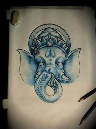 Ganesh tattoo design by ArturNakolet on DeviantArt Ganesh Tattoo, Ganesha Art, Bike Pic, Buddha Art, Elephant Tattoos, Arrow Tattoos, Tattoo Stencils, Tattoo Designs, Tattoo Ideas