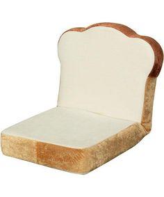 Silla-pan para sentarse en suelo 座椅子 食パン