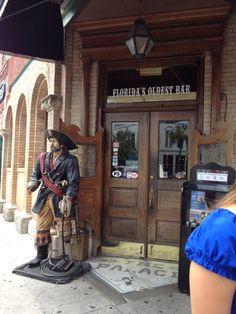 The Palace Saloon in Fernandina Beach is the oldest bar in Florida. West Palm Beach Florida, Old Bar, Fernandina Beach, Nassau County, Amelia Island, Sunshine State, Road Trippin, Florida Travel, 50 States