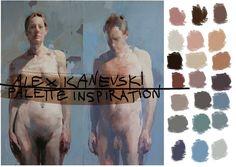 Alex Kanevski Palette Inspiration